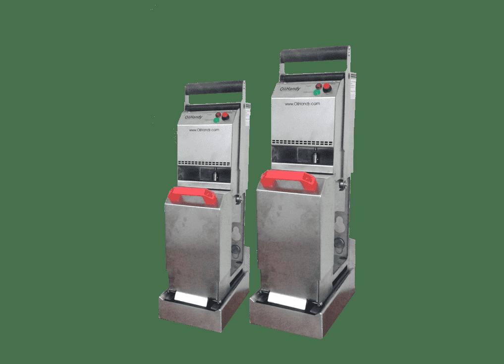 oilhandy frituurolie filtermachine